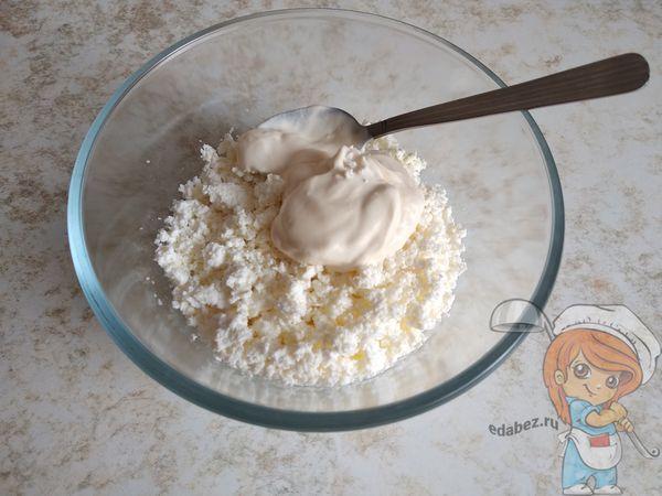 Творог с йогуртом