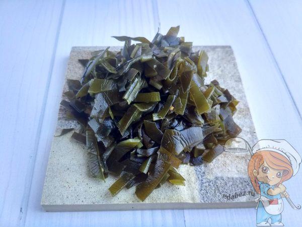 водоросли кубиками