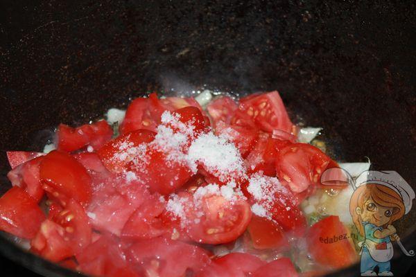 Солим соус маринара