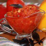 Соус сацебели рецепт из помидоров и перца