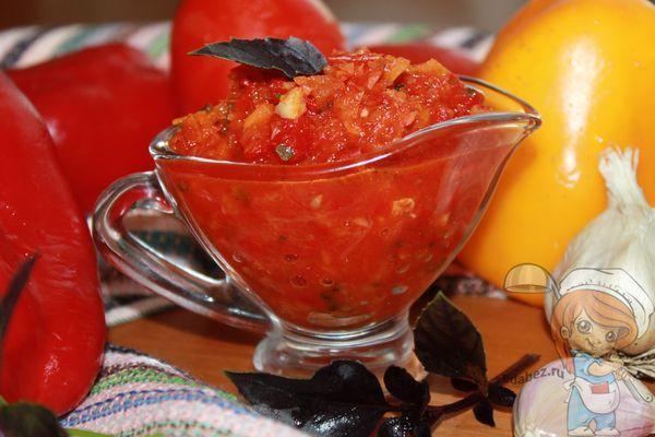 соус сацебели из помидоров рецепт