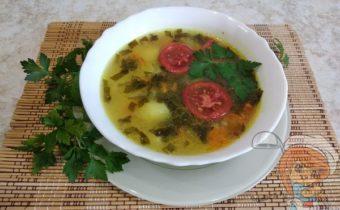 кисло-сладкий суп из свежих овощей