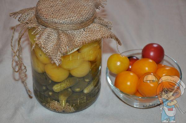 Овощное ассорти на зиму: рецепт