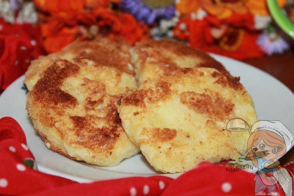 Готовые картофельные блины