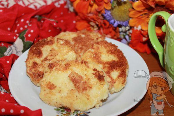 Вкусные оладушки из картошки