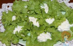 Еврейский салат с сыром