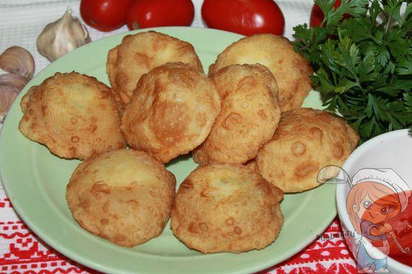 Вкуснейшие пирожки бомбочки рецепт с фото
