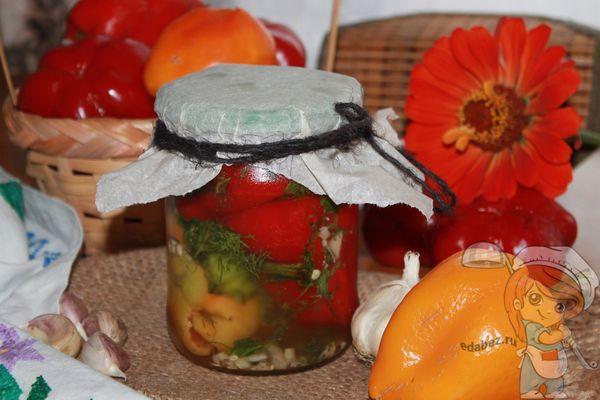 квашеный болгарский перец рецепт