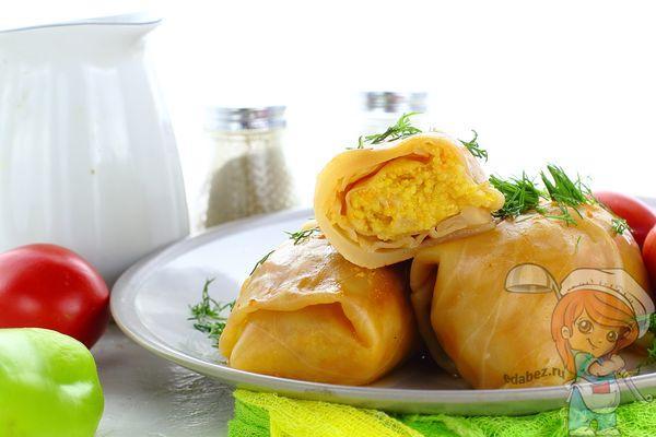 овощные голубцы рецепт пошагово с фото