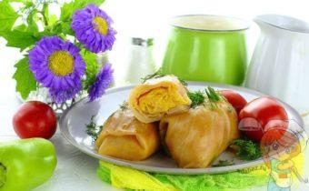 Овощные голубцы рецепт с фото