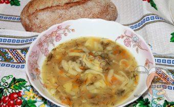 постный суп с вермишелью рецепт