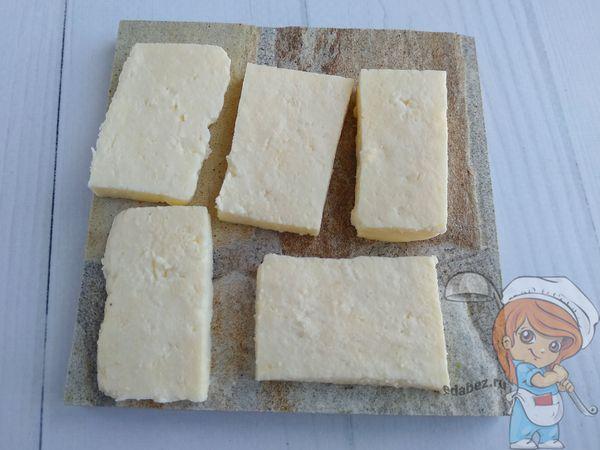 сыр пластинами