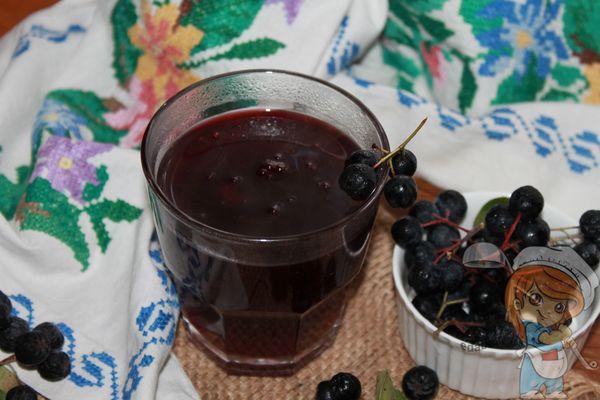 кисель из черноплодной рябины рецепт
