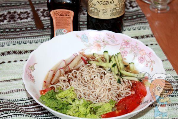 корейский холодный суп кукси рецепт с фото