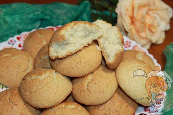 песочное печенье с крахмалом