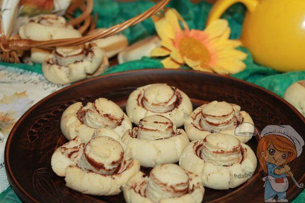 печенье грибы шампиньоны