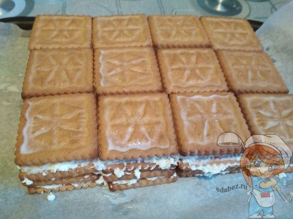 последний слой печенья