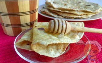 Индийские лепешки чапати - рецепт с фото