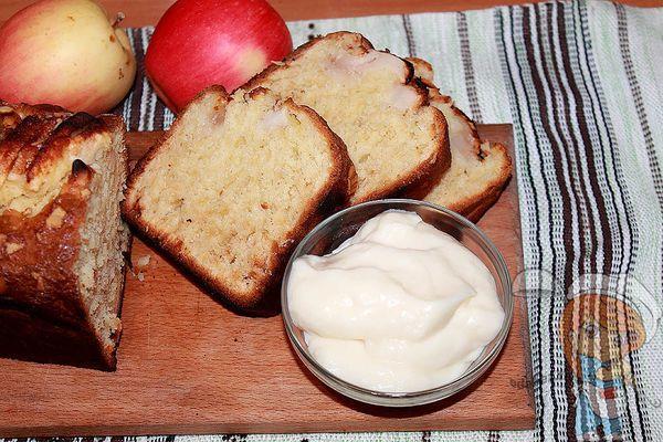 шведский пирог с яблоками