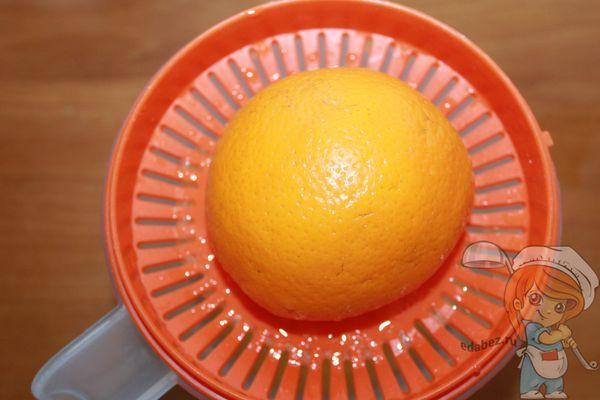 Выжиммаем сок из апельсина