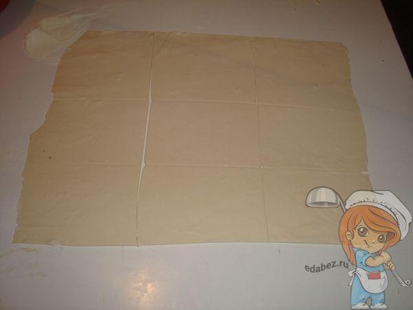 Разрезаем пласт на квадраты