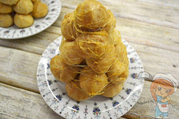 Торт Крокембуш рецепт пошагово с фото