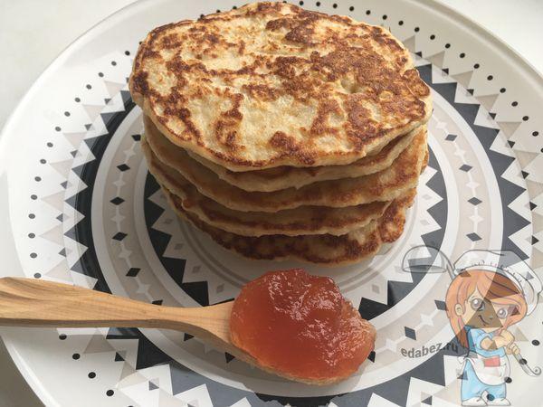 Овсяно-яблочные оладьи рецепт с фото