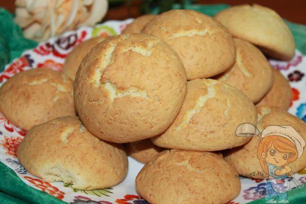 рассыпчатое песочное печенье с крахмалом