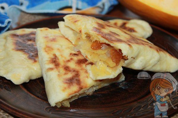 тонкое чуду с тыквой и орехами - дагестанский рецепт