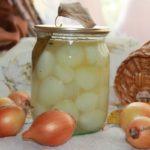 мелкий маринованный лук рецепт на зиму