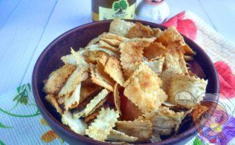 Чипсы из лаваша в духовке рецепт
