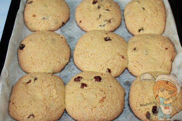 выпекаем печенье из кукурузной муки