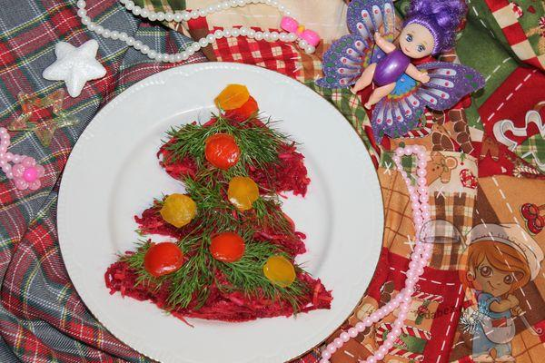 салат из свеклы на новый год
