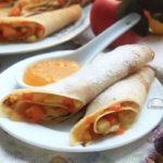 блинчики с тыквой и яблоками рецепт