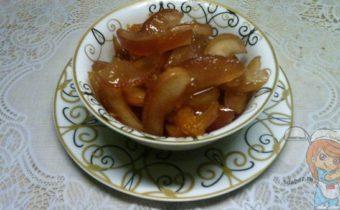 Яблочное варенье с мандарином