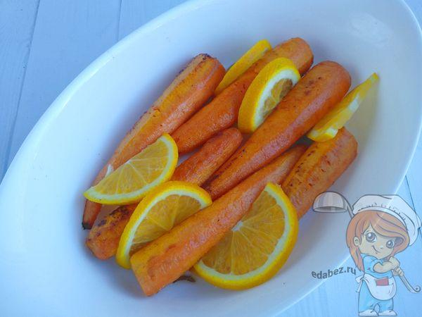 морковь с апельсином