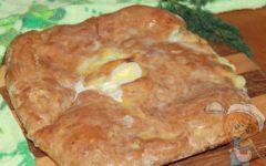 Осетинский пирог на кефире рецепт без дрожжей и без мяса