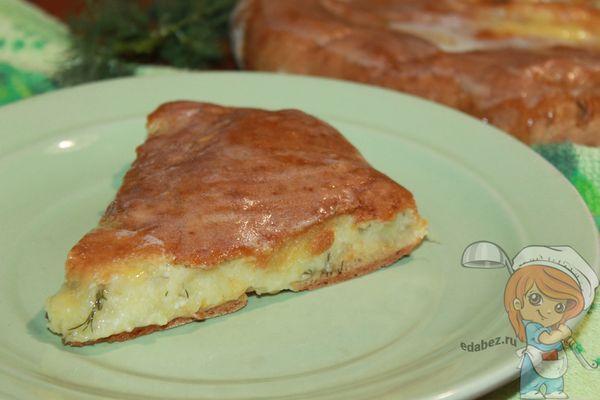 осетинский пирог без дрожжей