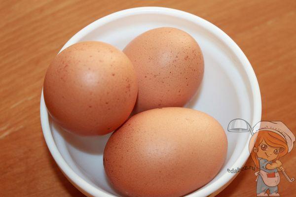 варенные яйца