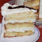 бисквитный торт с йогуртовым кремом рецепт с фото