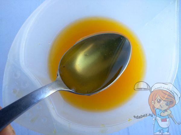 смешиваем с медом