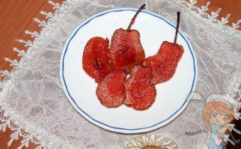 вяленые груши, как сделать, польза и калорийность