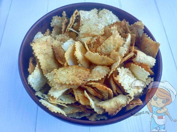 как сделать чипсы из лаваша - рецепт