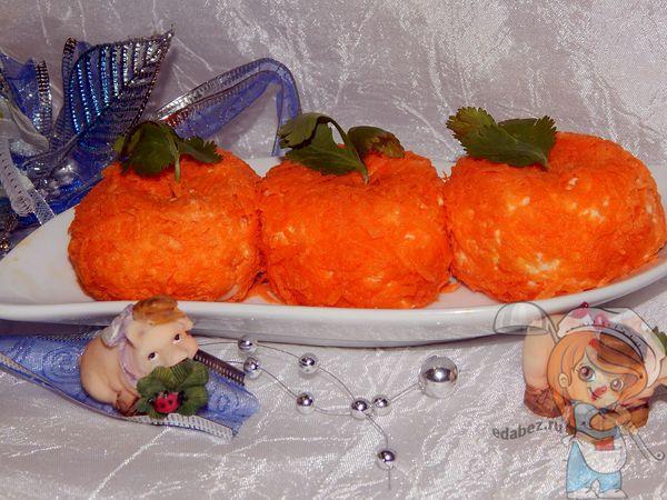 Острая новогодняя закуска мандаринки рецепт