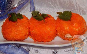Острая сырная закуска мандаринки
