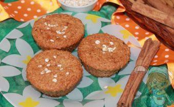 творожно-овсяные кексы рецепт