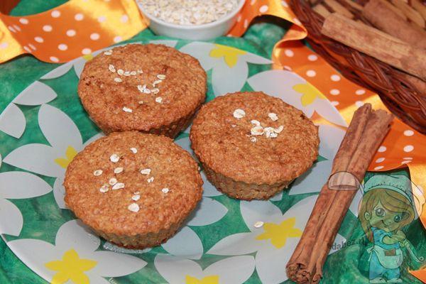 творожно овсяные кексы рецепт