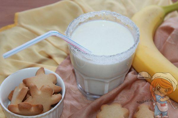 Смузи с творогом и бананом рецепт