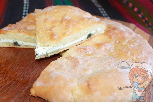 как приготовить осетинский пирог без дрожжей