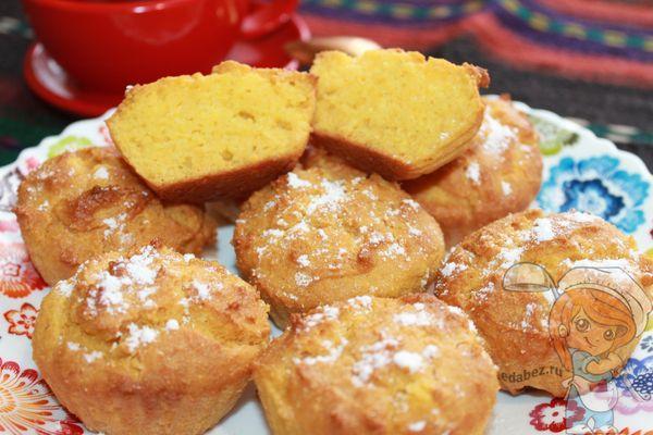 пп кексы из кукурузной муки рецепт